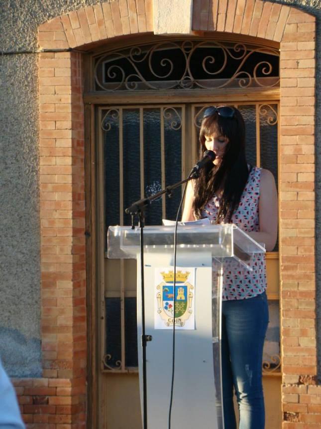 Isabel Cantos - Presidenta Guadalhorce en la memoria